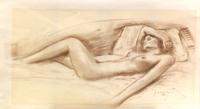 Quadro di A. Brunetti  Nudo