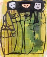 Quadro di  Chiti  Tre figure