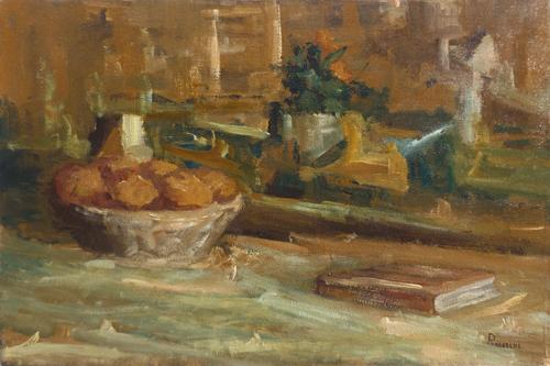 Quadro di Piero Passerini Composizione - olio tela