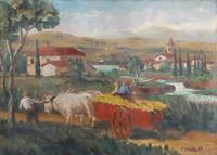 Quadro di Raffaele Ghetta  Paesaggio