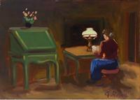 Quadro di G. Paoletti  Studio