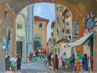 Work of Rodolfo Marma  Mercatino di S. Piero