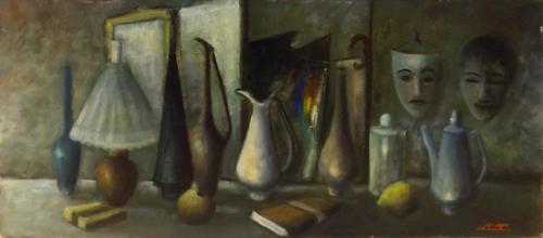 Quadro di Sereno Serena Composizione - Pittori contemporanei galleria Firenze Art
