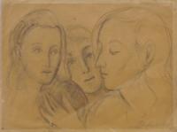 Quadro di Domenico Purificato  Studio di figura
