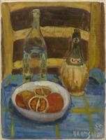 Quadro di Alfio Rapisardi - Composizione olio cartone telato