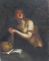 Quadro di  Antiquariato - Maddalena olio tela