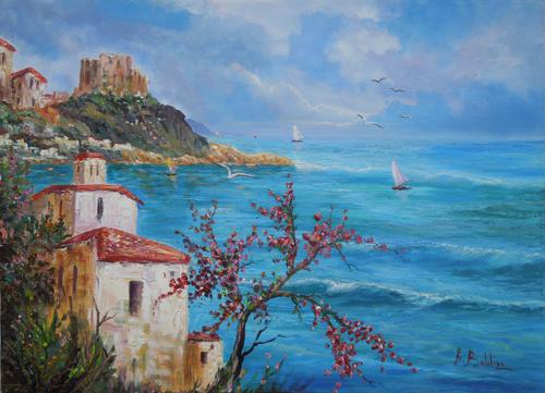 Art work by Rossella Baldino Scilla  - oil canvas