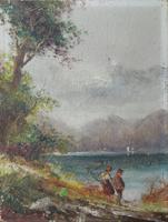 Figure sul lago