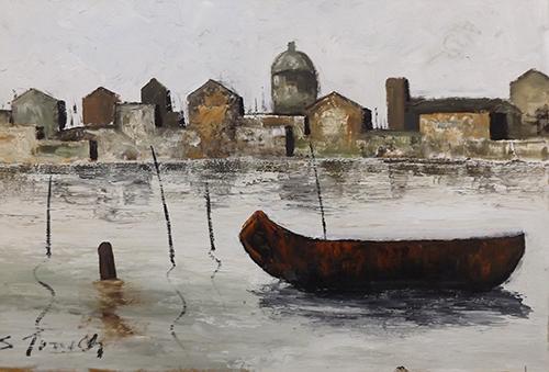 Quadro di Sauro Tasselli Venezia - Pittori contemporanei galleria Firenze Art