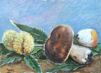 Quadro di Paolo Galli - Natura morta olio faesite