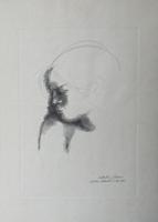 Quadro di Emilio Greco  Figura e ombra