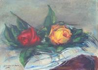 Quadro di Giovanni Di Bella   Natura morta di rose