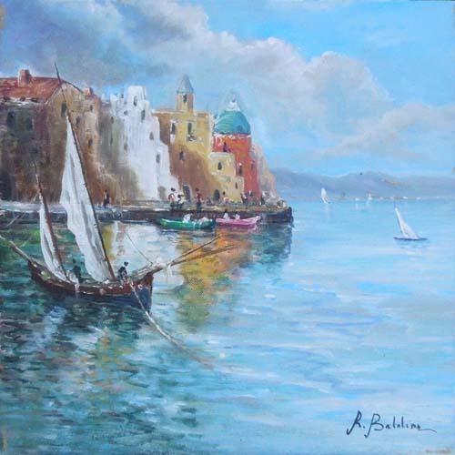 Artwork by Rossella Baldino, oil on canvas | Italian Painters FirenzeArt gallery italian painters