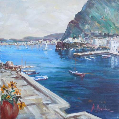 Art work by Rossella Baldino Dal porto - oil canvas