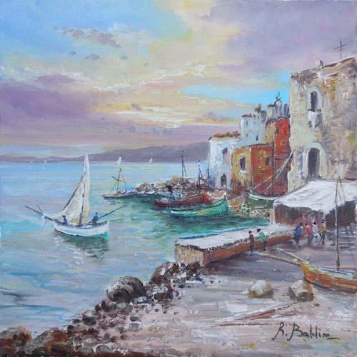 Quadro di Rossella Baldino Marina - Pittori contemporanei galleria Firenze Art