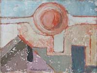 Quadro di Paolo Forasassi  - Eliocentrico olio tela