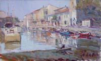 Mario Poggesi - Al porto