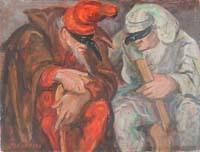 Quadro di M. Bandini  Maschere