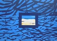 Work of Mauro Capitani - Accoccolati ad ascoltare il mare oil canvas