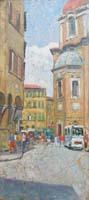 Quadro di Fosco Pavi  San Lorenzo e Cappelle Medicee