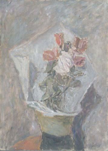 Quadro di Giuseppe Manfredi Rose - olio faesite