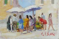 Work of Gino Paolo Gori  Mercatino