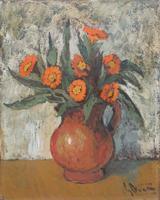 Quadro di Gianfranco Antoni  Vaso fiorito