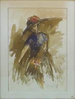 Quadro di Luigi Rosati  Figura femminile