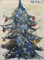 Work of Lido Bettarini  Albero di Natale