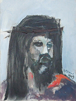 Work of Lido Bettarini  Volto di Cristo