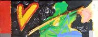 Quadro di Francisco J. Smythe - Heart assemblaggio tela