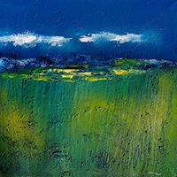 Work of Mauro Capitani - Notturno per un incontro oil canvas