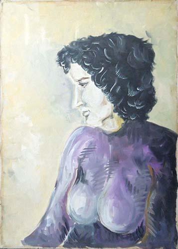 Art work by  Anonimo Figura  - oil canvas