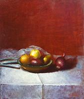 Work of  Ferrini - Natura morta  oil canvas