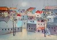 Work of Lido Bettarini  Primavera e case