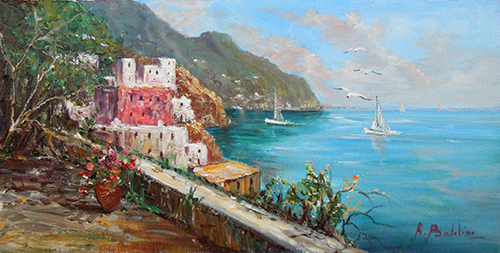 Art work by Rossella Baldino Sorrento - oil canvas