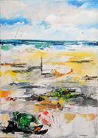 Mauro Capitani - Conchiglia fiore sulla spiaggia