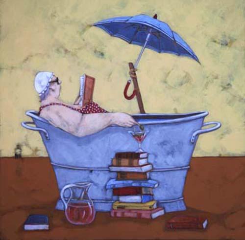 Quadro di Lisandro Rota Cultura in relax  - grafica carta