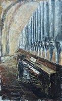 Quadro di  Caprari  Pianista