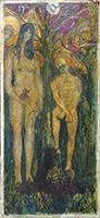 Quadro di Umberto Mazzoni  Adamo ed Eva