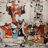 Quadro di Andrea Tirinnanzi - Manifesti strappati dal vento ink jet tela
