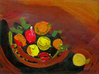 Work of Attilio Alfieri - Natura morta oil canvas