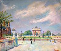 Lucien Adrion - Les Tuileries (Parigi)