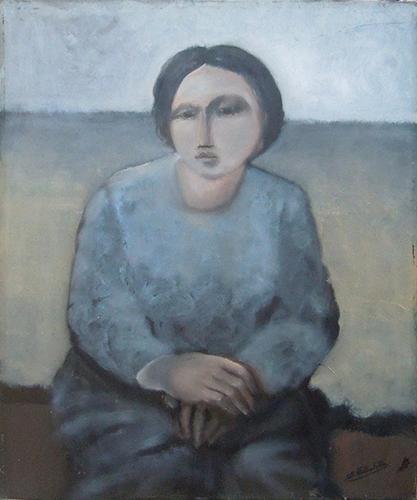 Quadro di  Anonimo Figura - Pittori contemporanei galleria Firenze Art