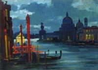 Quadro di Renato Natali  Laguna (Venezia)