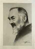 Quadro di A. Ciccone   Padre Pio