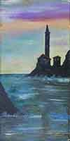 Quadro di Firma Illeggibile  Marina