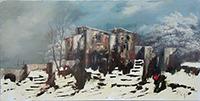 Work of  Aluigi  Paesaggio invernale