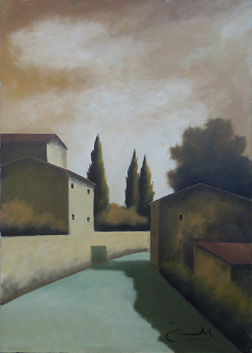Art work by Sauro Tasselli Campagna  - oil canvas
