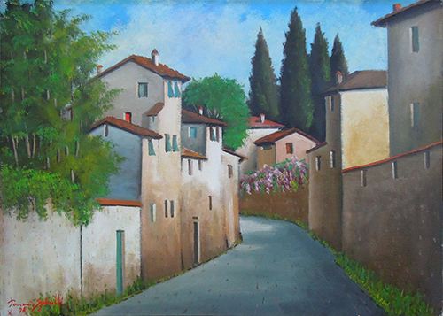 Art work by Pancrazio Spinelli Bellariva  - oil canvas